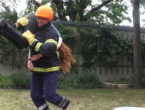 Feuerlöschdreh Rettung