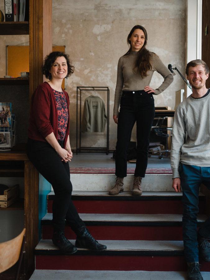 Ahoj-Team @Paul Glaser (v.l.n.r. Jenny, Anna & Lorenz)